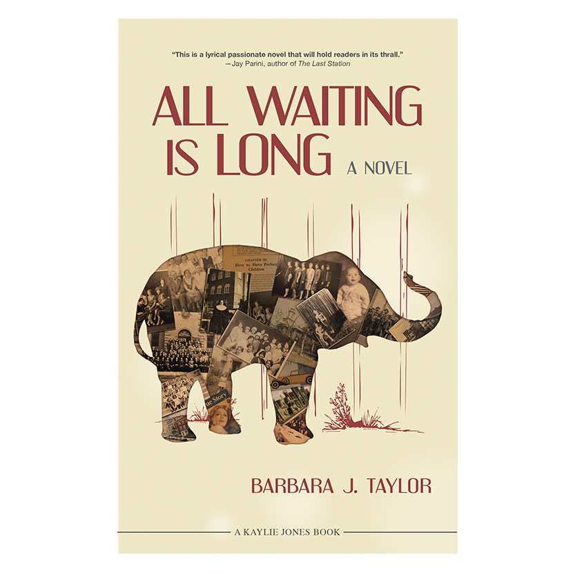rowmack - Book Cover Design - All Waiting Is Long