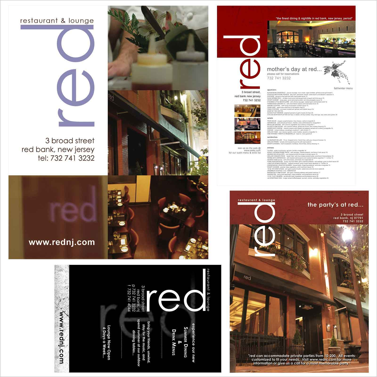 rowmack - Print Design - NJ Restaurant Ads