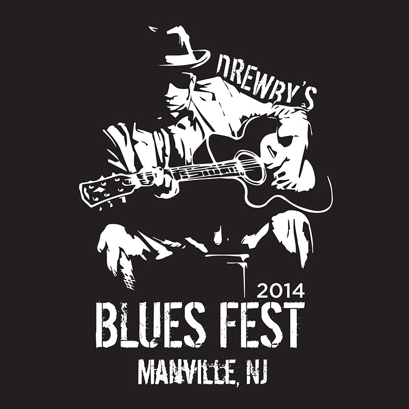 rowmack - T-Shirt Design - Blues Fest